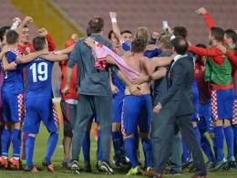 Kroatiens Coach Cacic beweist hellseherische F�higkeiten