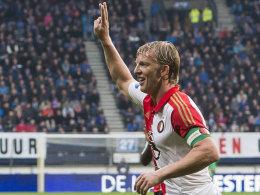 Besiktas bleibt vorne - Kuijt trifft dreifach f�r Feyenoord