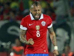 Vidals Treffer reicht Chile nur zum Remis