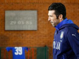 Belgien - Italien: Ein Spiel im Gedenken an die 39