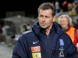 Griechenland-Coach Skibbe: Blamage beim Deb�t