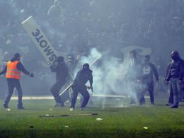 Ausschreitungen in Athen - Spiel abgesagt