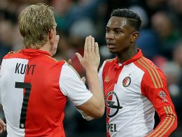 Podolski und Gomez schlagen zu - Feyenoord bleibt dran