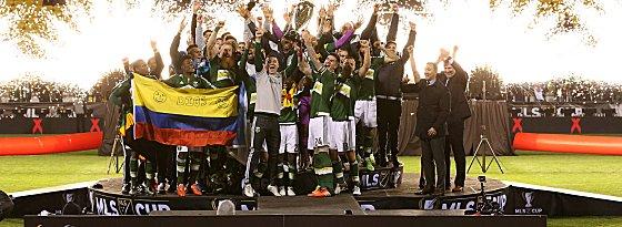 Erstmals Meister der MLS: die Portland Timbers.
