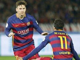 Messi wird bespuckt - River will Mascherano