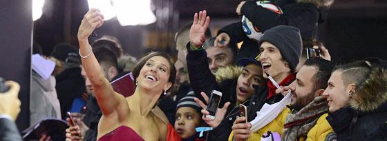 Feierte bereits zuvor mit den Fans: Carli Lloyd wurde zur Weltfußballerin 2015 gekürt.