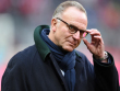 Unterst�tzt Gianni Infantino: Karl-Heinz Rummenigge, Vorstandschef des FC Bayern M�nchen.