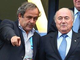 Michel Platini und Joseph Blatter