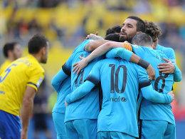 Der FC Barcelona erkämpfte sich vor der anstehenden Champions-League-Sieg beim FC Arsenal ein 3:1.