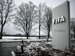 Trübe Stimmung am Tag vor dem FIFA-Kongress in Zürich.