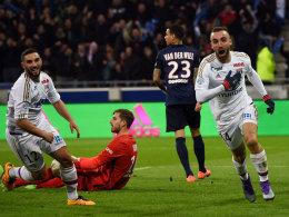 Blanc r�tselt nach Sch�nheitsfleck auf der PSG-Weste