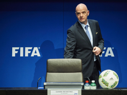 Sponsorenvertrag: FIFA-Präsident Gianni Infantino und der Weltverband arbeiten mit Wanda zusammen.