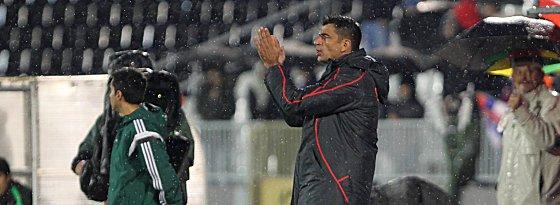 Er will sich nicht rechtfertigen: Serbiens Nationaltrainer Radovan Curcic.