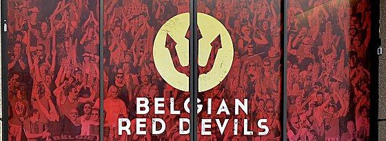 """Belgien trauert - und das Länderspiel der """"Roten Teufel"""" findet nun in Portugal statt."""