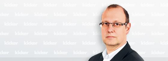 kicker-Redakteur Manfred Münchrath.