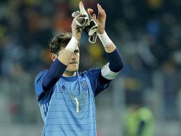 Nummer 166: Casillas stellt Europarekord ein