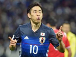 Kagawa trifft doppelt - Japan eine Runde weiter