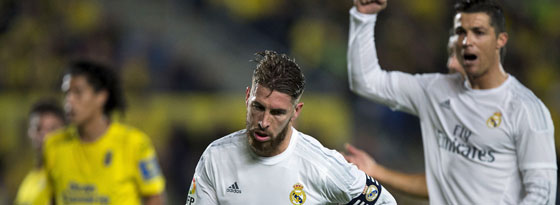 Will den Kollegen gegen Rivale Barcelona auf dem Platz helfen: Real-Kapitän Sergio Ramos.