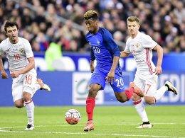 Coman trifft f�r Frankreich - Niederlande gewinnt