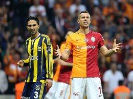 Podolskis Tor z�hlt nicht - ManUnited im Halbfinale