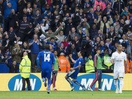 4:0! Leicester siegt auch ohne Vardy