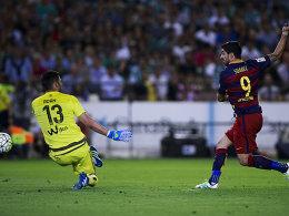Suarez baut Platz eins aus - Aubameyang r�ckt vor