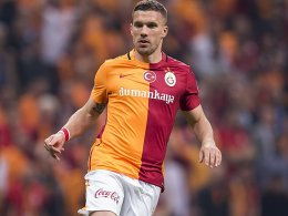 Podolski mit Galatasaray im Finale gegen Fenerbahce