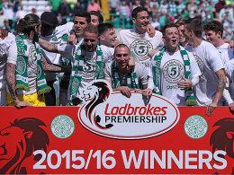 Celtic feiert Nr. 47 - und muss weiter warten