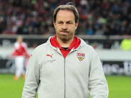 Stuttgarts Ex-Coach Alexander Zorniger.
