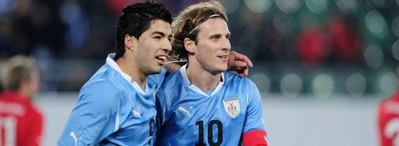Suarez und Forlan