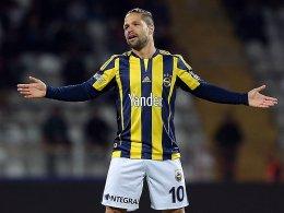 Für ihn und seinen Klubs gab es schlechte Nachrichten: Diego (Fenerbahce Istanbul).