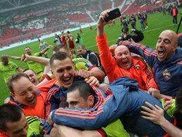 Sechster Streich von ZSKA - Dynamo steigt ab