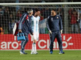R�cken, Rippen, Brust - Argentinien bangt um Messi