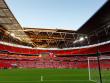 Platz f�r 90.000 Zuschauer: Das Wembley-Stadion.