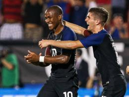 Copa-Generalprobe: 4:0 f�r Klinsmanns US-Team
