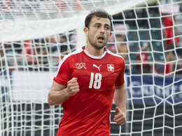 Ukraine bereit f�rs DFB-Team - Mehmedi rettet Nati