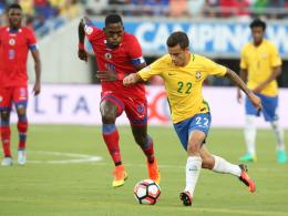 Coutinho-Dreierpack bei Brasiliens Kantersieg