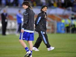 Maradona kritisiert Messi - und