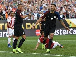 Dempsey trifft, Brooks gl�nzt, Klinsmann strahlt