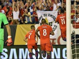 Dank Vargas: Auch Chile ist durch - Argentinien schont sich