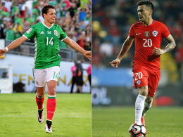 Aranguiz vs. Chicharito: Titelverteidiger vs. Rekordj�ger
