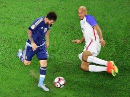 Rekordmann Messi f�hrt Argentinien ins Copa-Finale