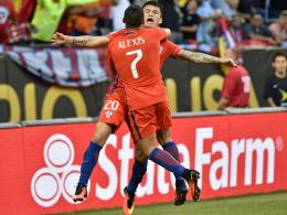 Regenchaos: Aranguiz bringt Chile ins Finale