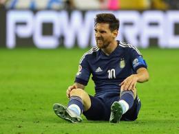Geburtstagskind Messi schimpft auf Verband