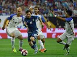 Argentinien d�rstet: Reicht Messis famoser 50er-Schnitt?