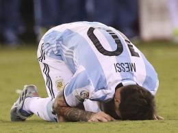 Argentinien verliert Copa-Finale - Messi tritt zur�ck