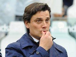 Montella wagt sich auf Milans Schleudersitz