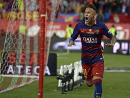 Neuer Vertrag: Neymar geht bei Bar�a in Rente