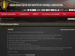 Belgien sucht Trainer per Online-Anzeige