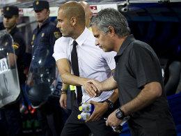 Duell Guardiola gegen Mourinho abgesagt